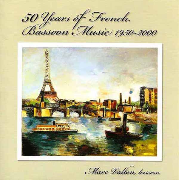 50 years of french bassoon music